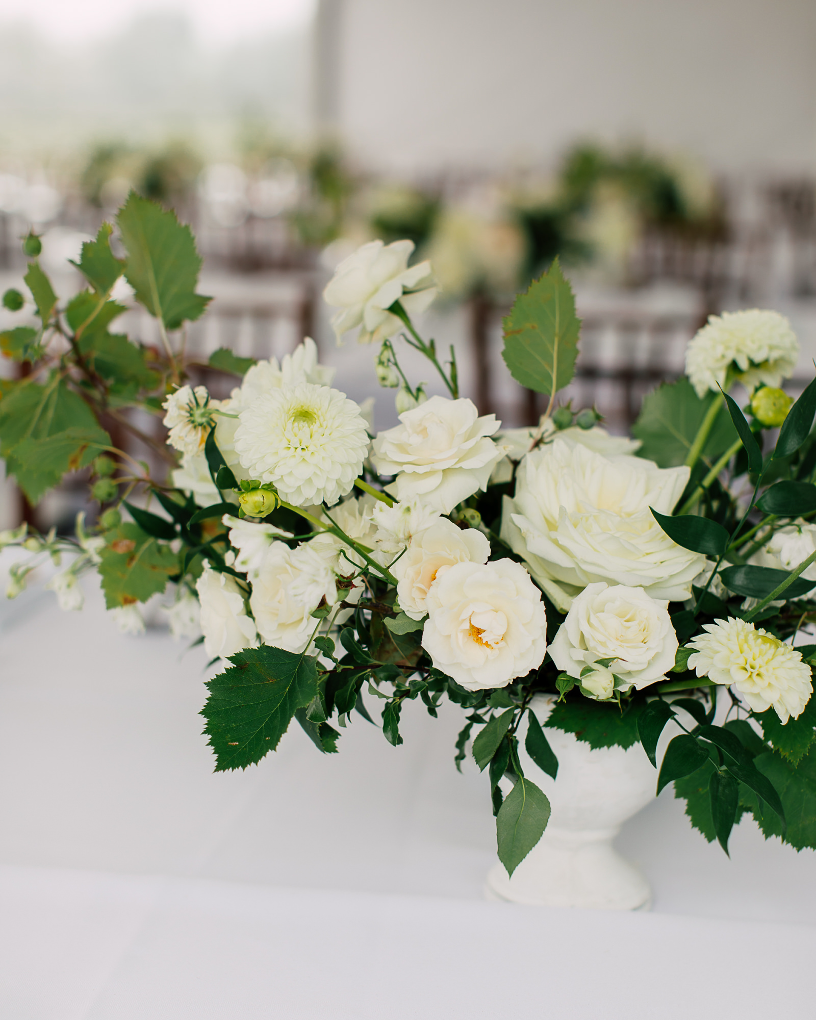 bloom & co wedding arrangement