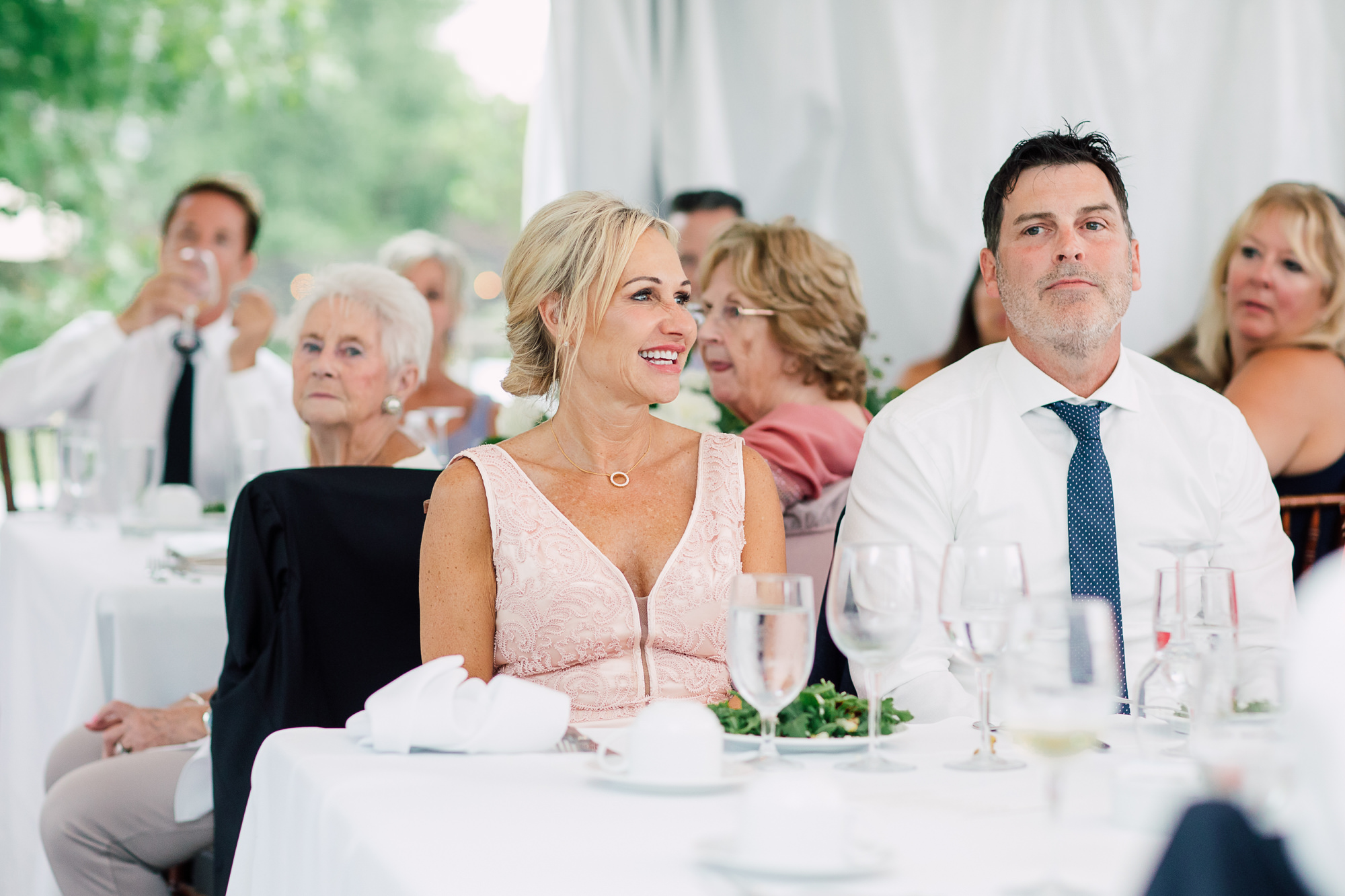 candid wedding speech