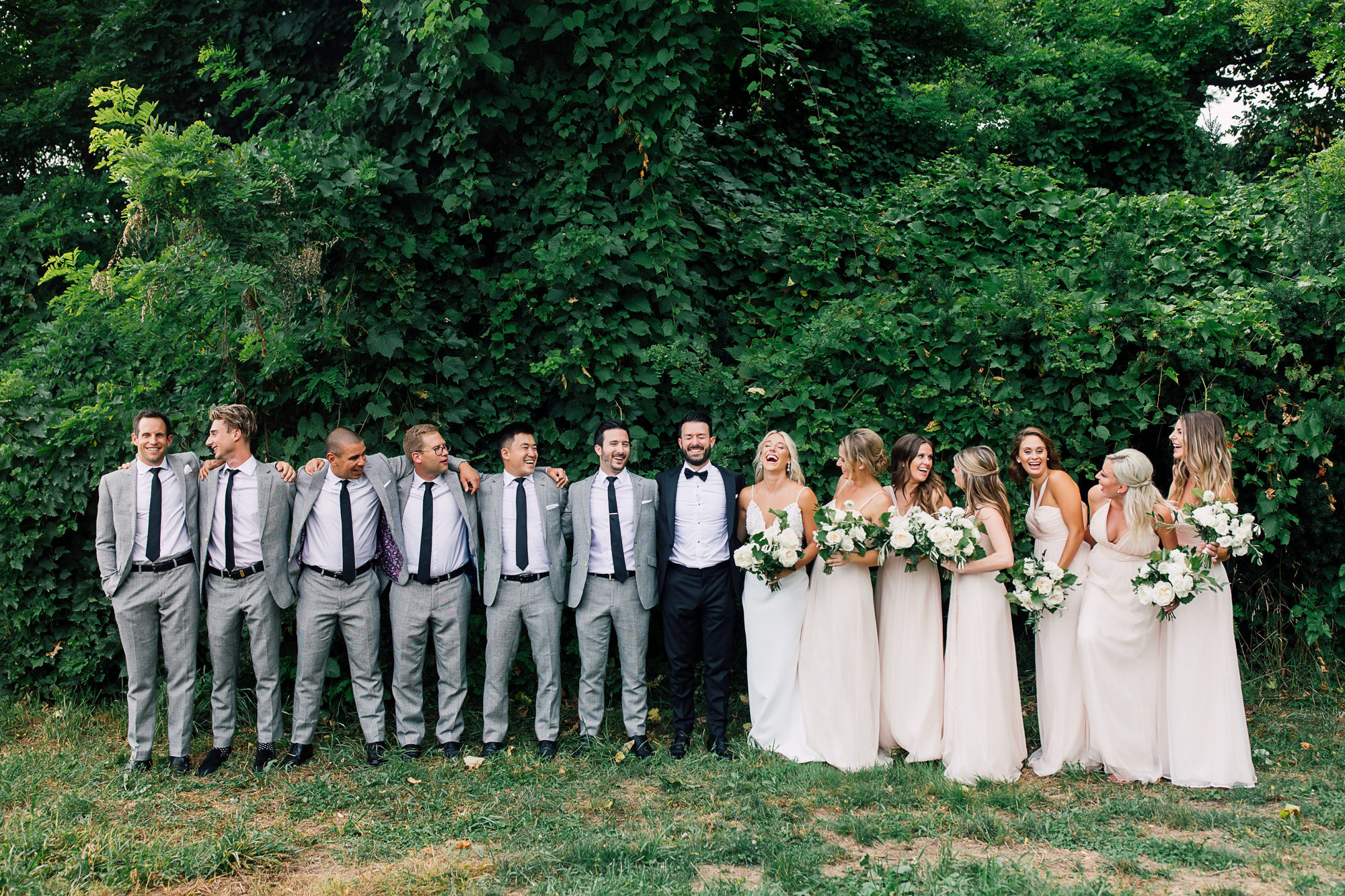 forest bridal party