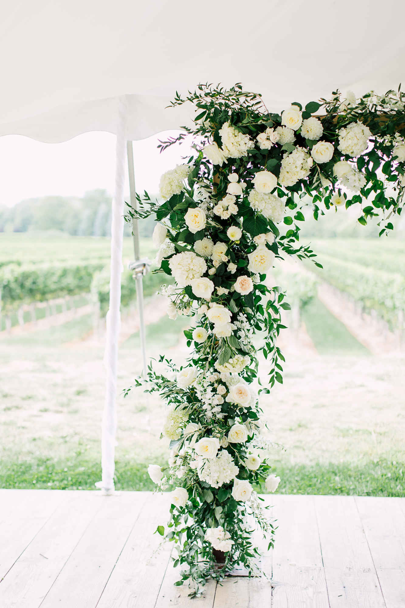 bloom & co ceremony arch