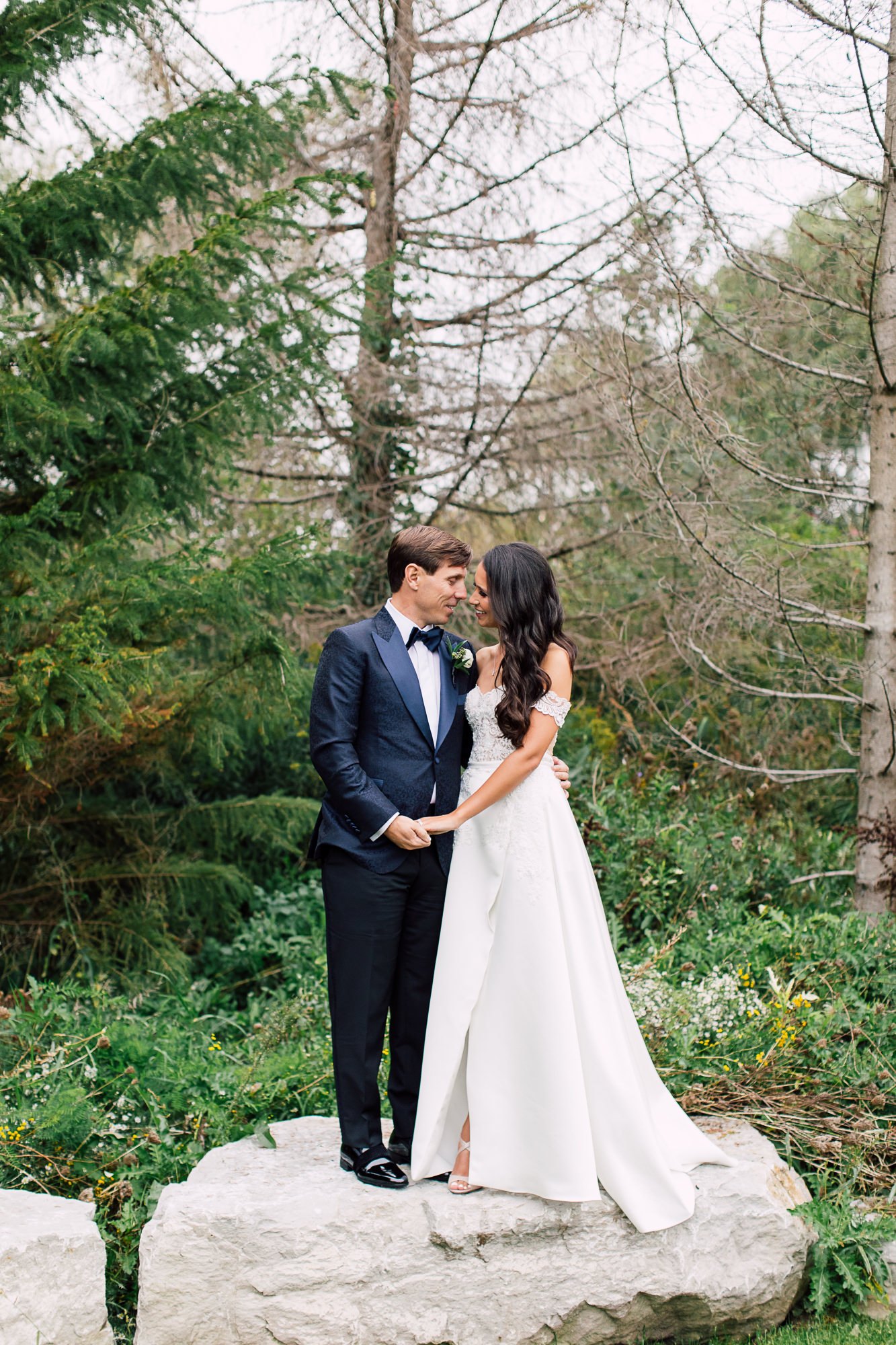valencienne bridal gown
