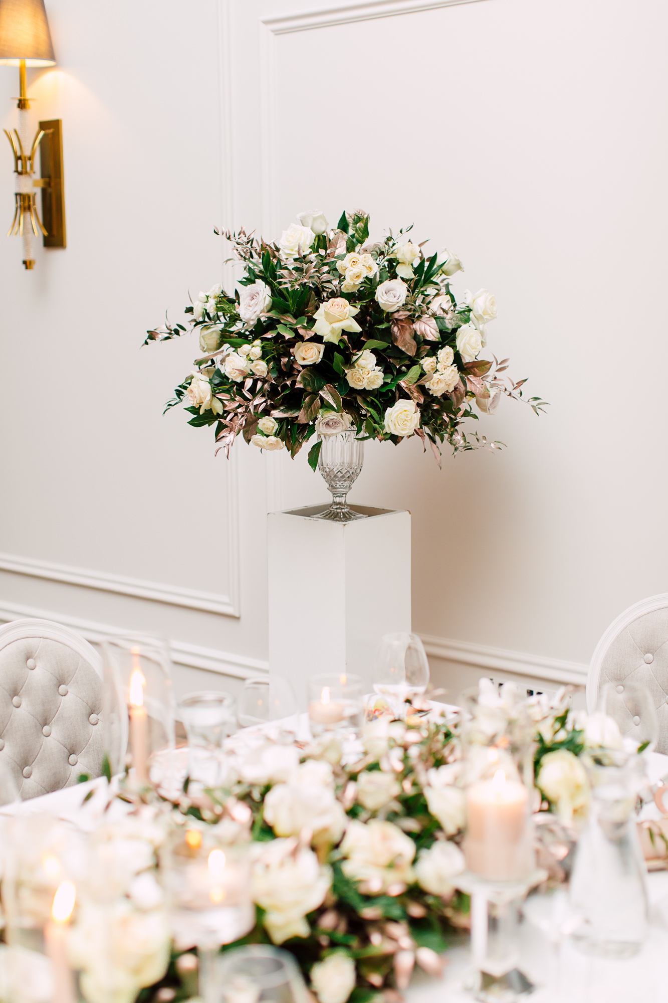 precious flowers decor
