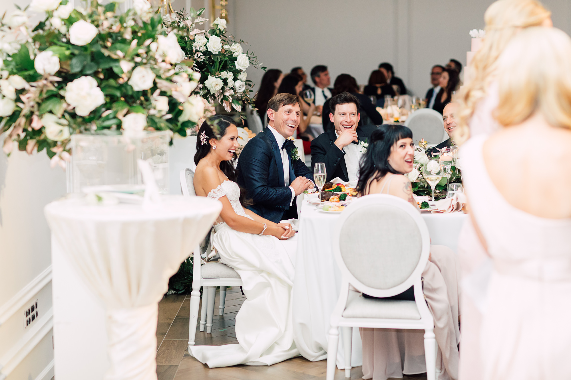 laughing bride groom speech