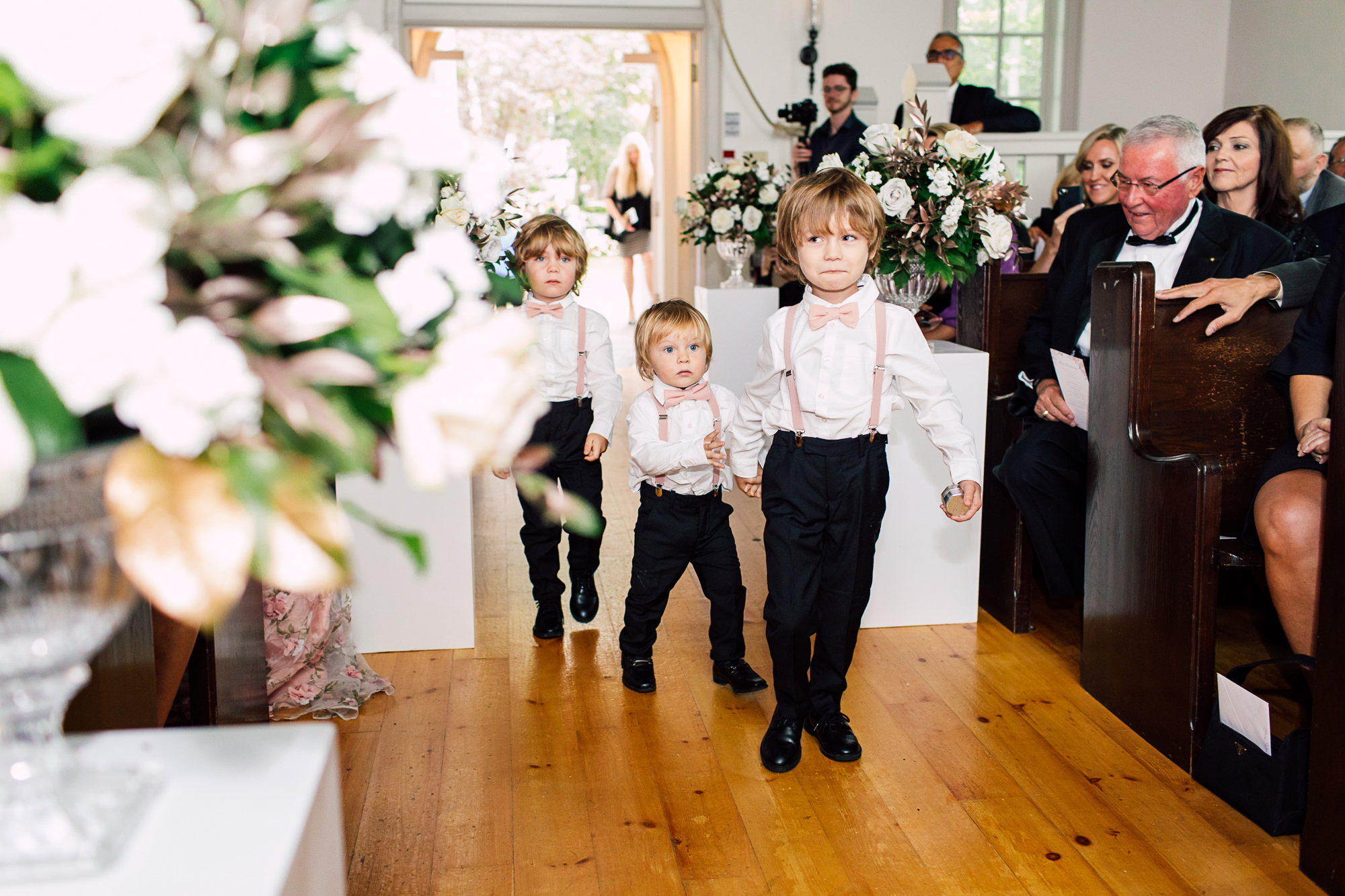 ring bearers doctor's house