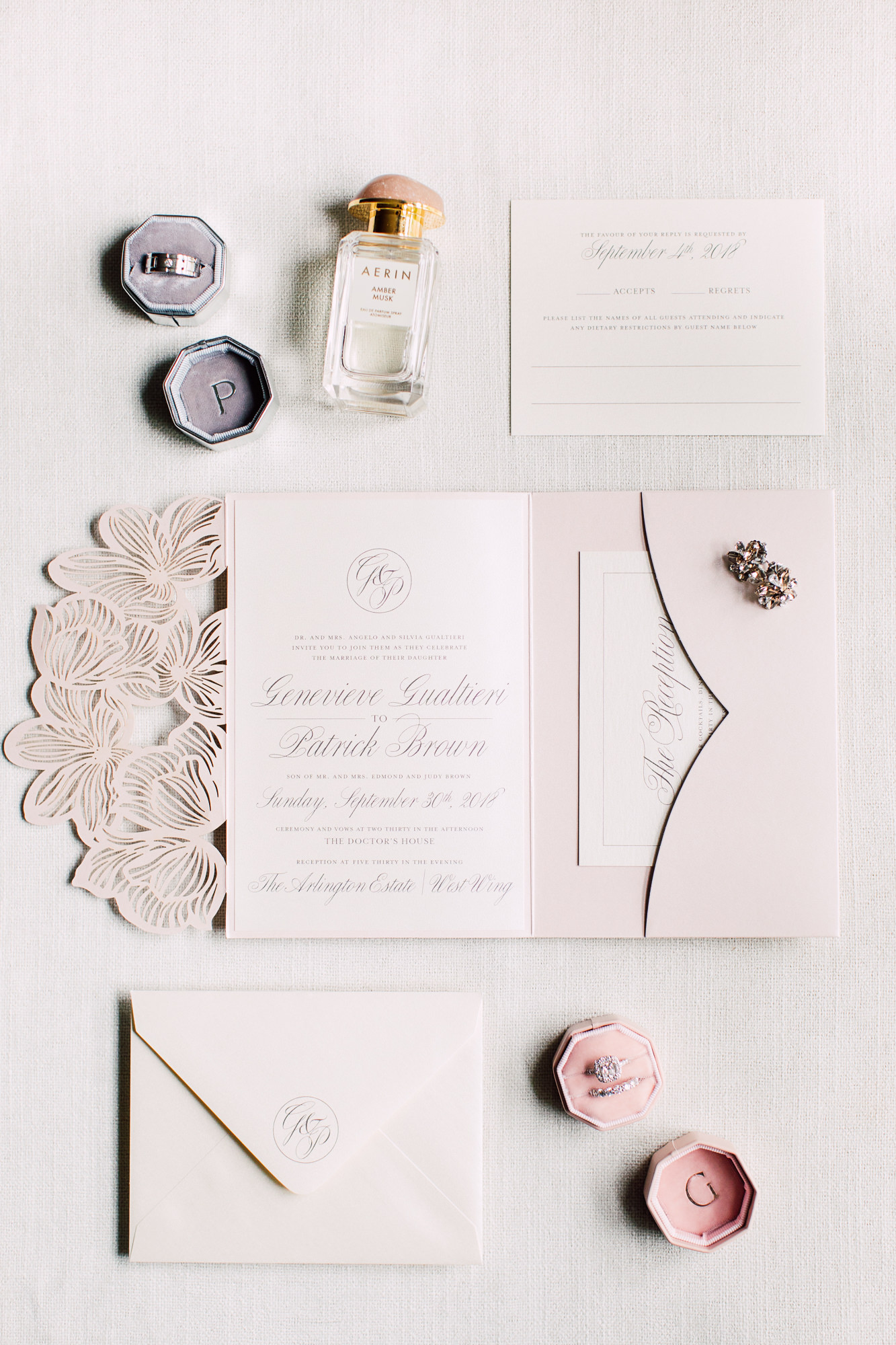 simply sealed wedding stationery
