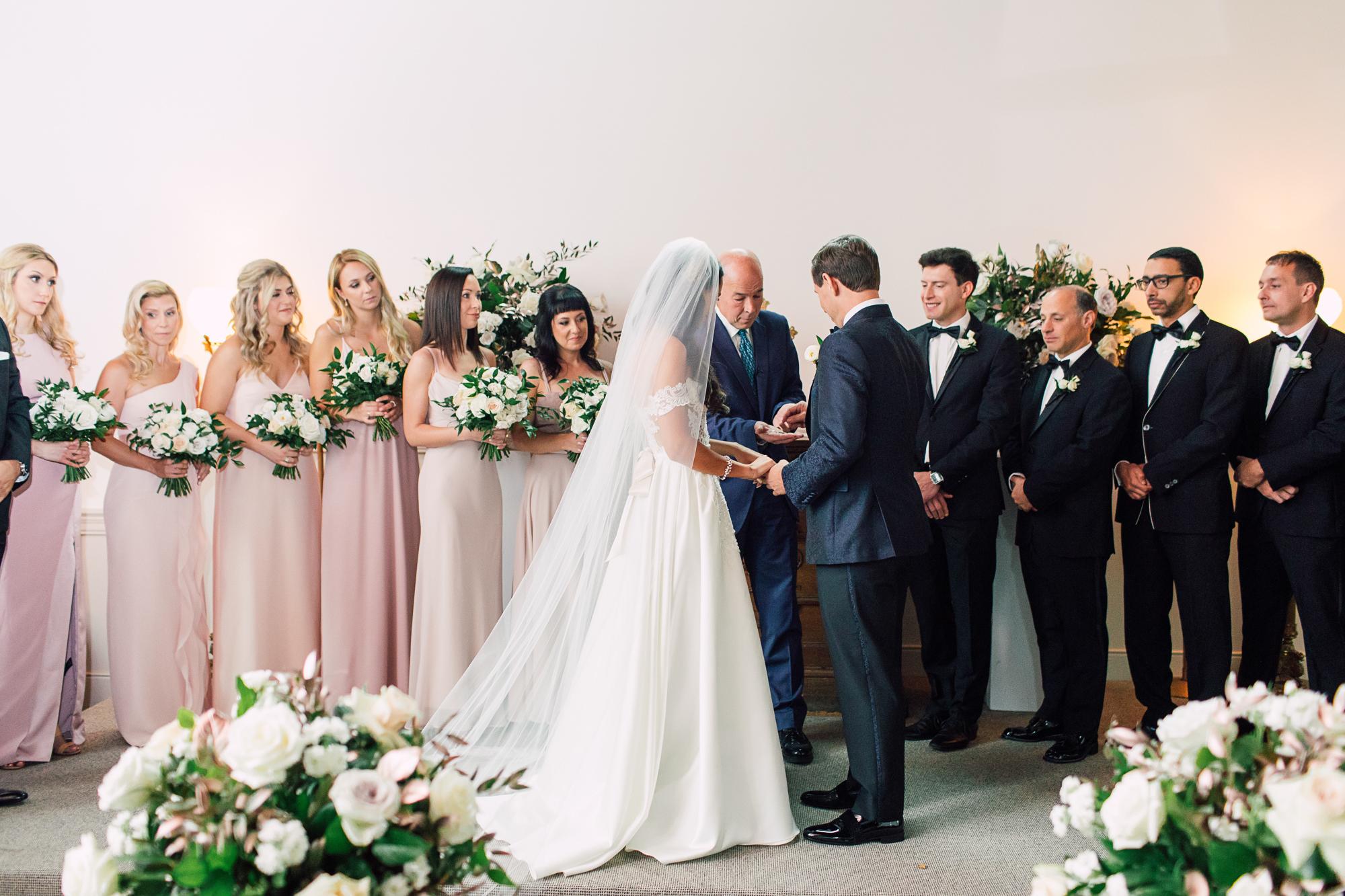 valencienne wedding dress