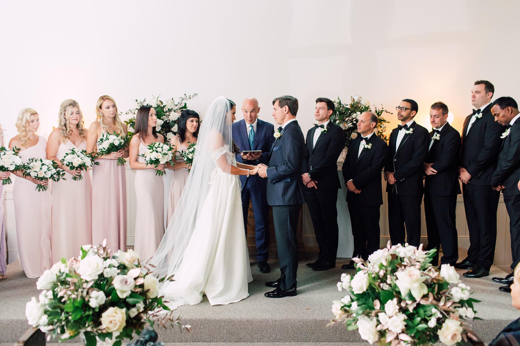 precious flowers wedding ceremony