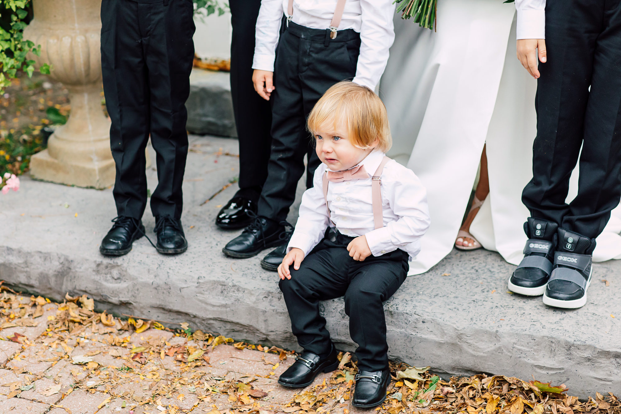 ring bearer suspenders