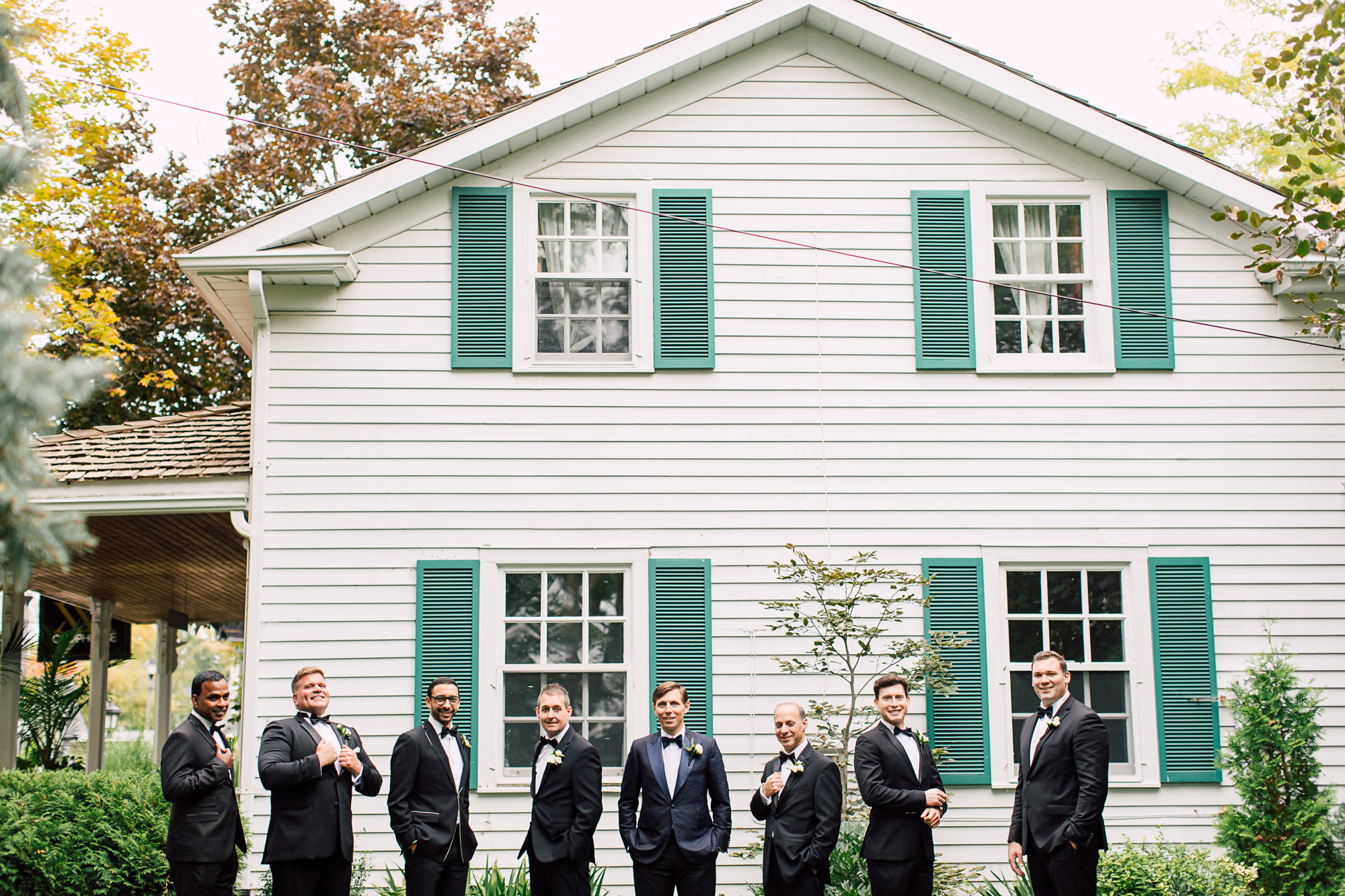 doctor's house groomsmen
