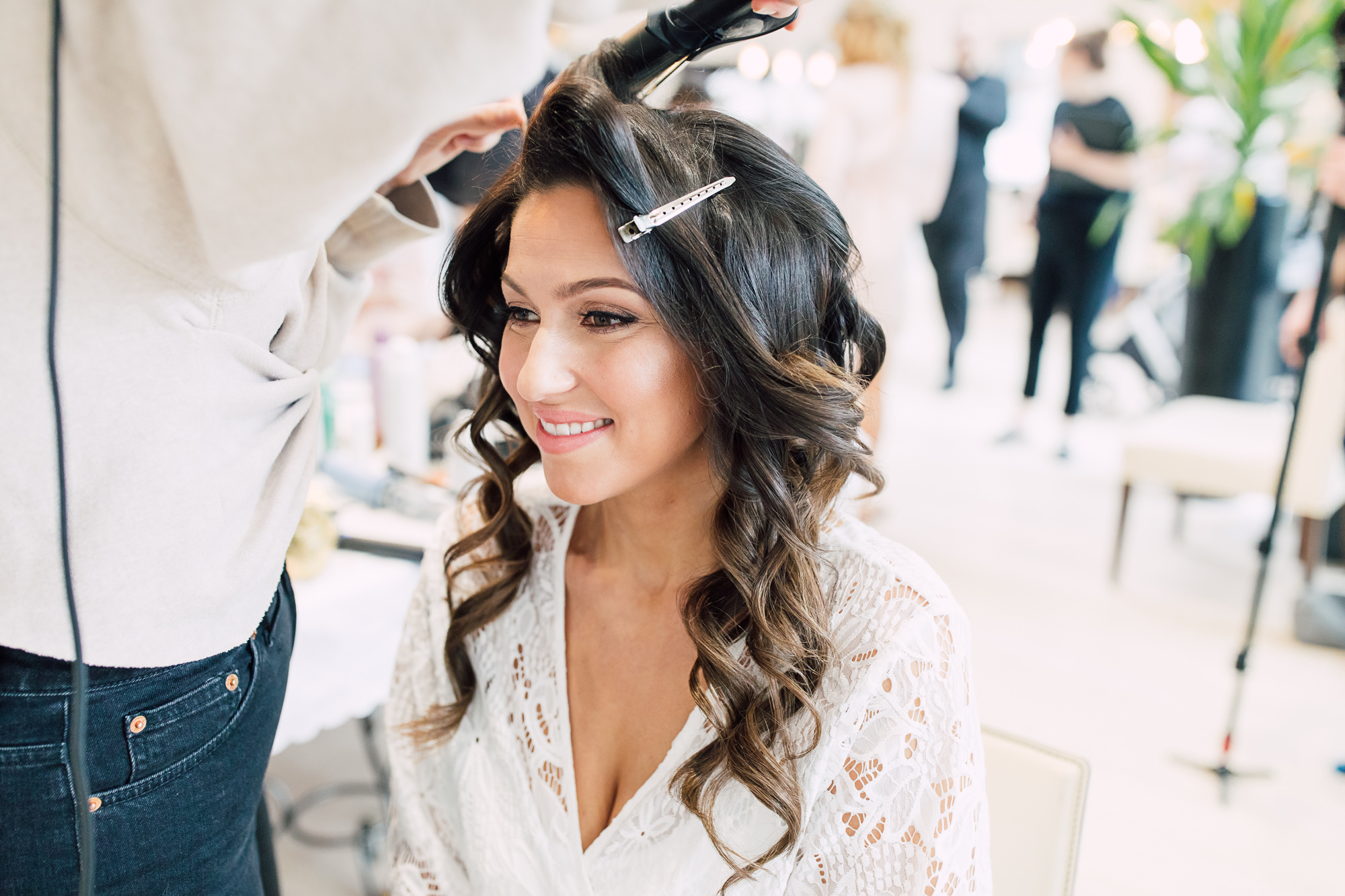 allison kam wedding hair