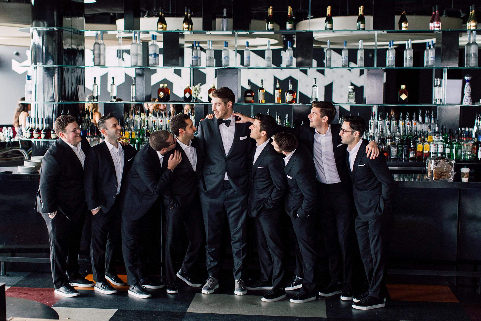 groomsmen tuxedo suit