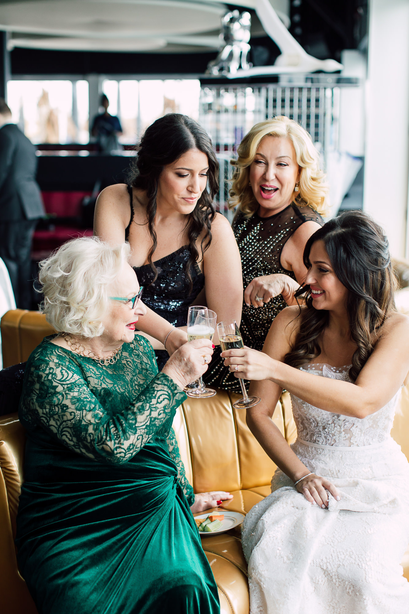 grandma champagne toast