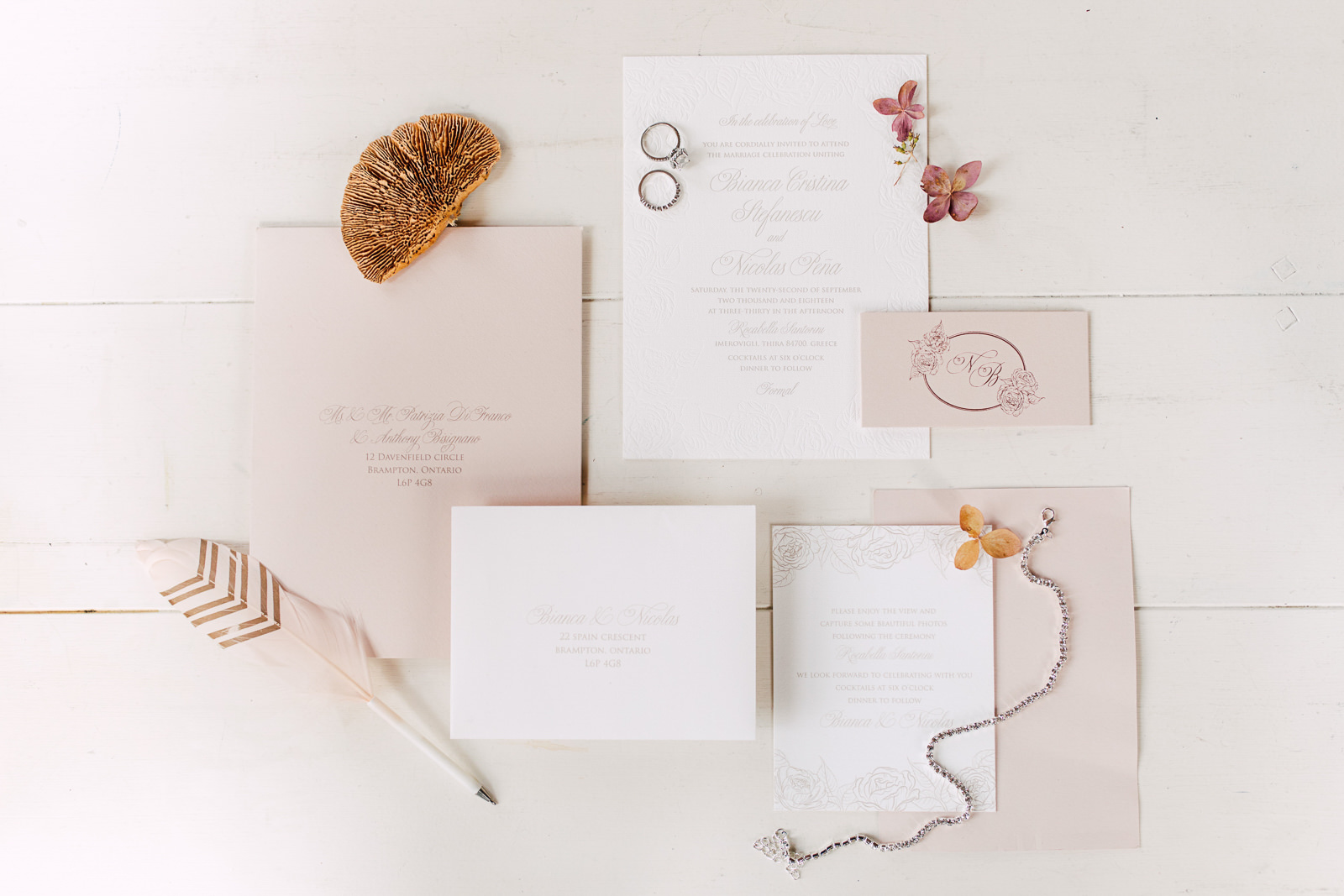 so pretty in print wedding stationery