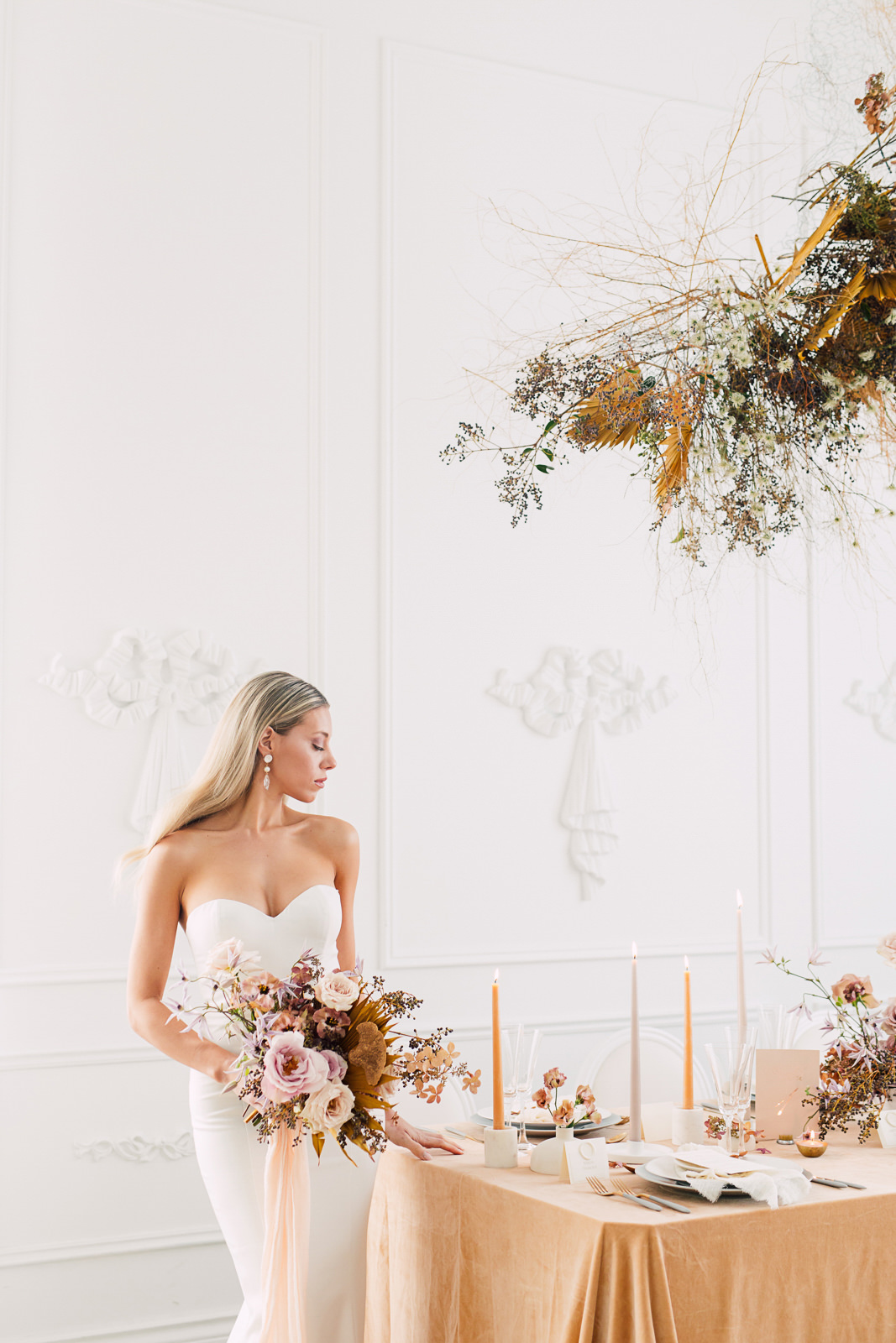 mint room styled shoot