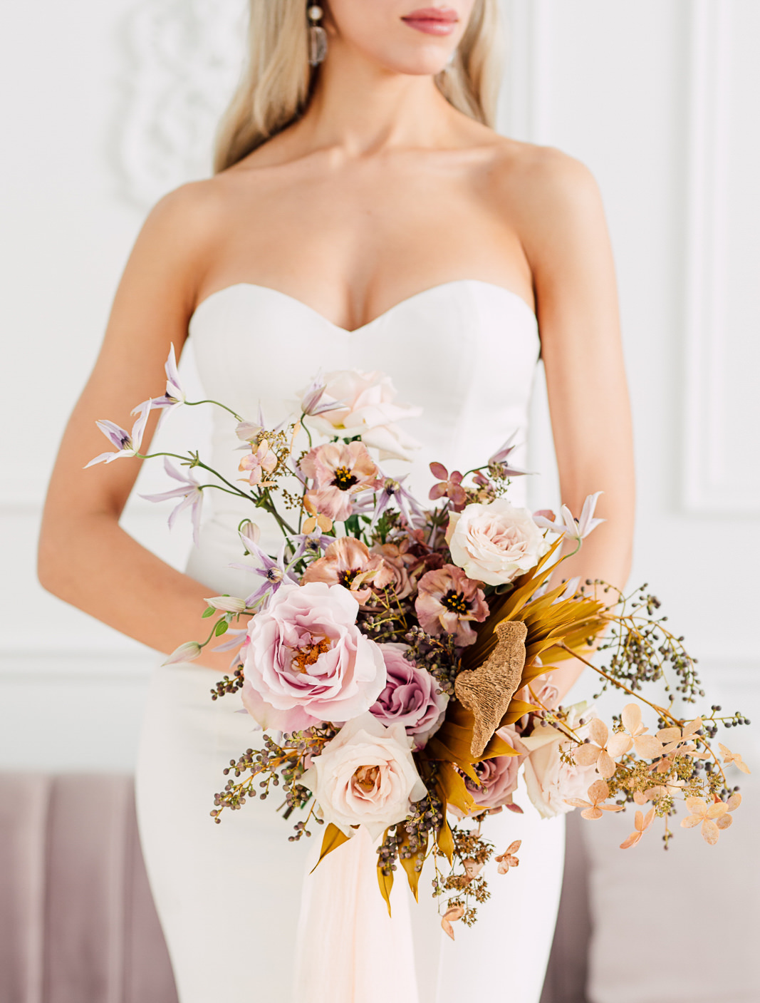 white oak bridal bouquet