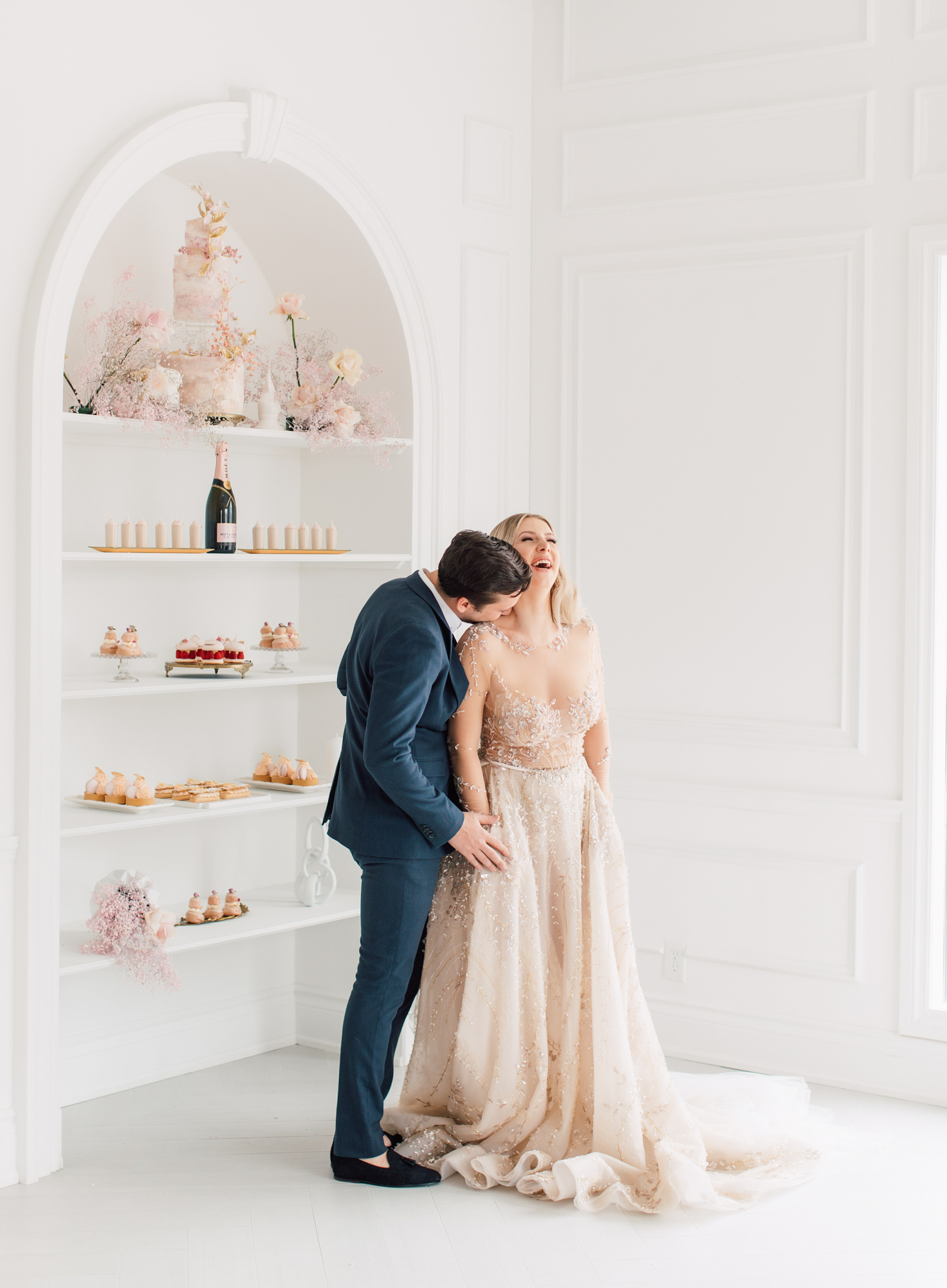 lee petra grebenau bridal gown