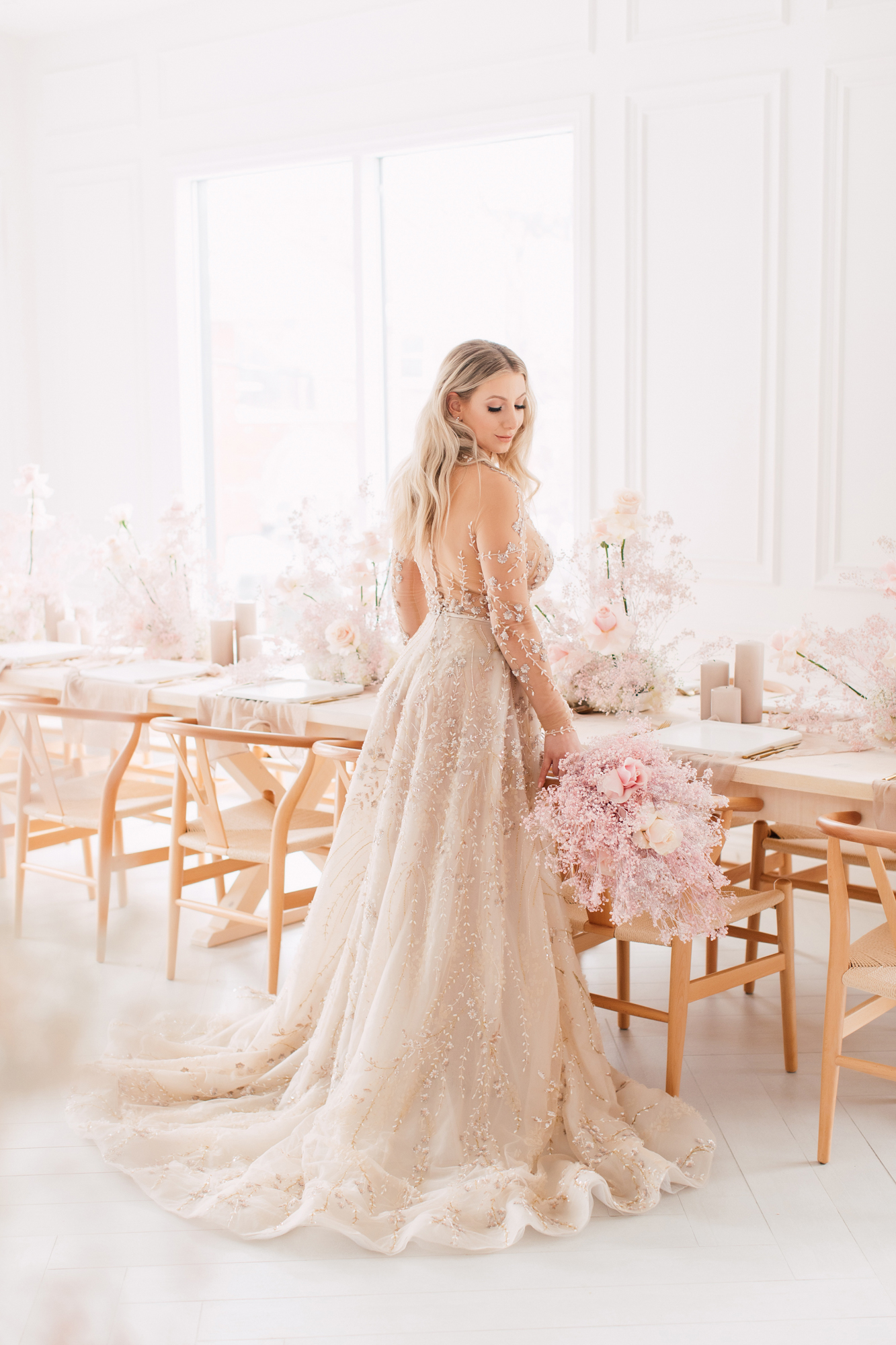 lee petra grebenau wedding dress