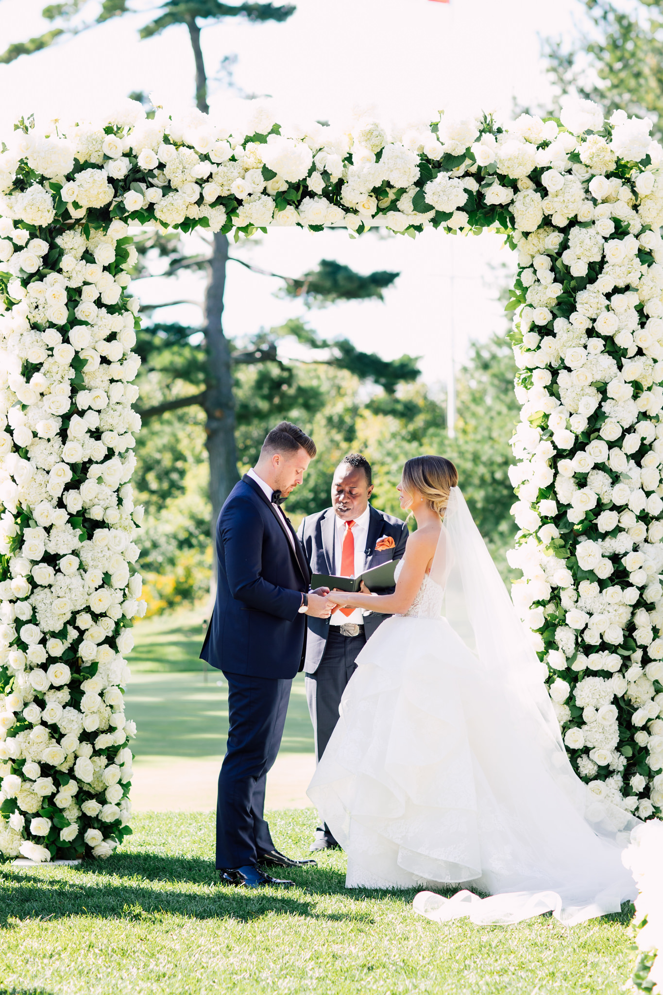 Toronto Golf Club Wedding Ceremony