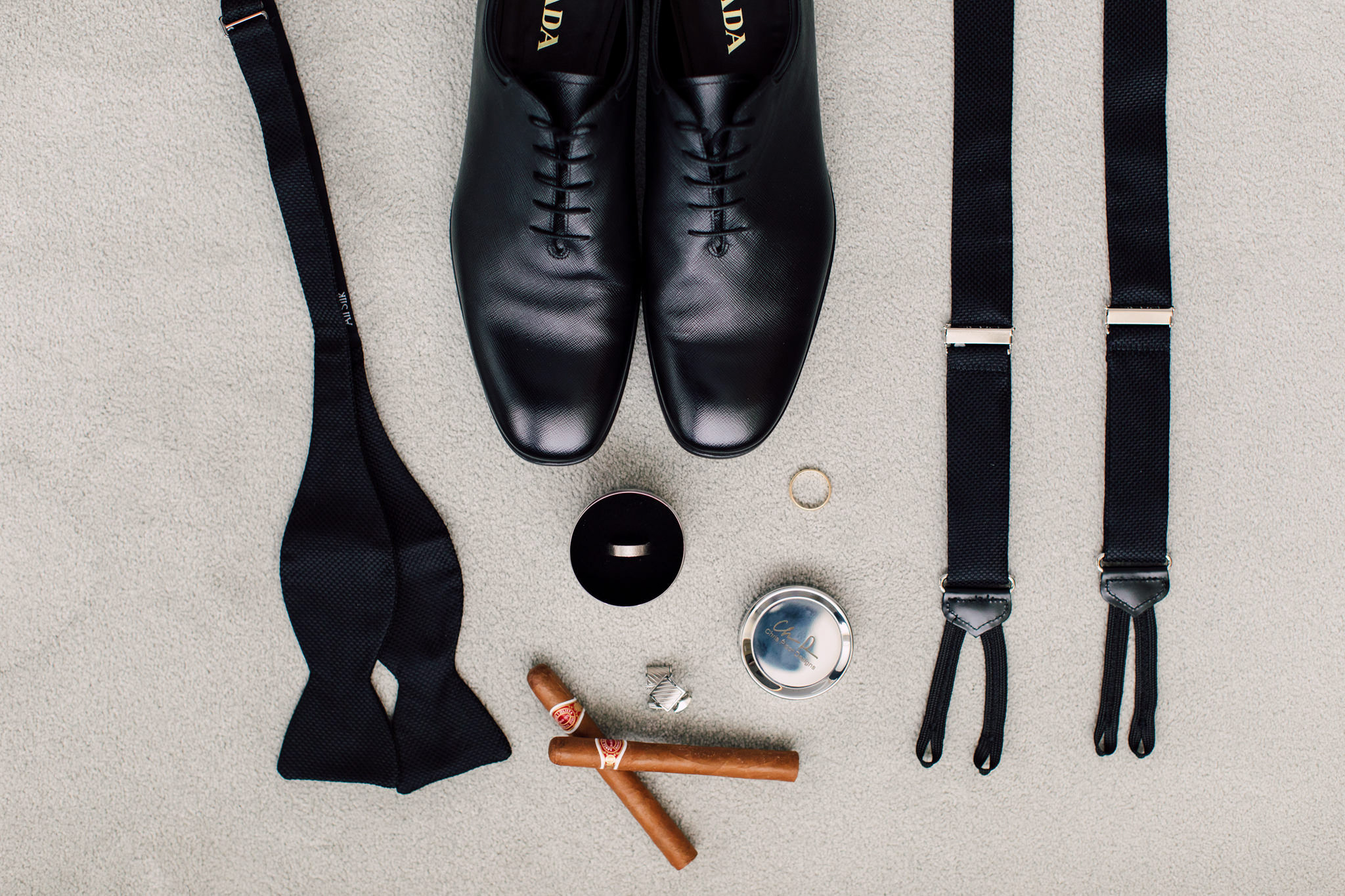 Grooms Wedding Flatlay