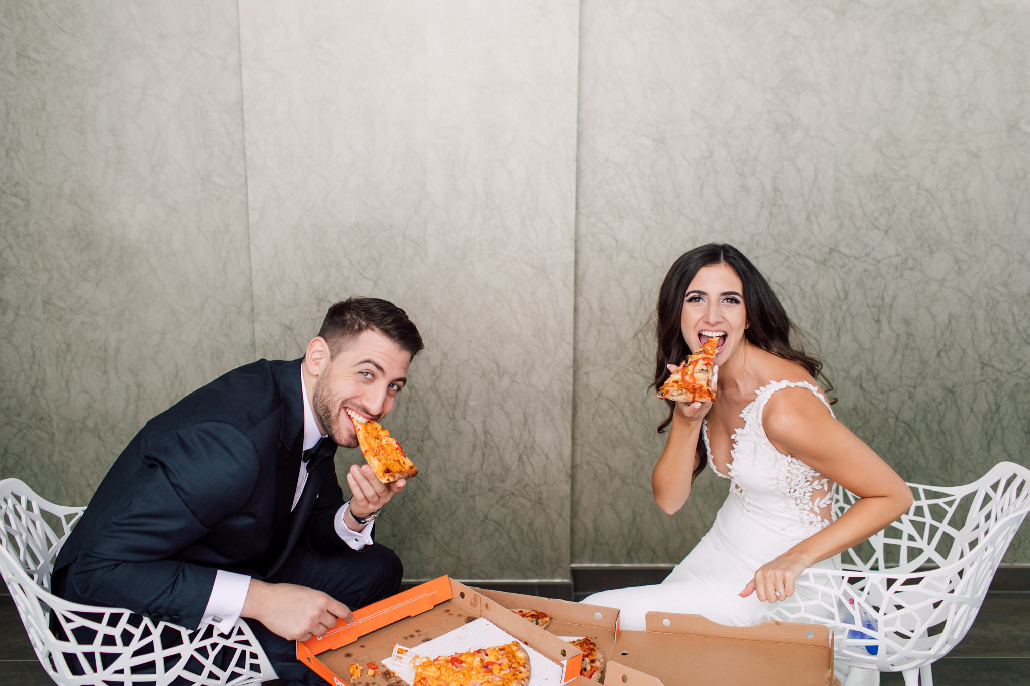 Bride Groom Pizza