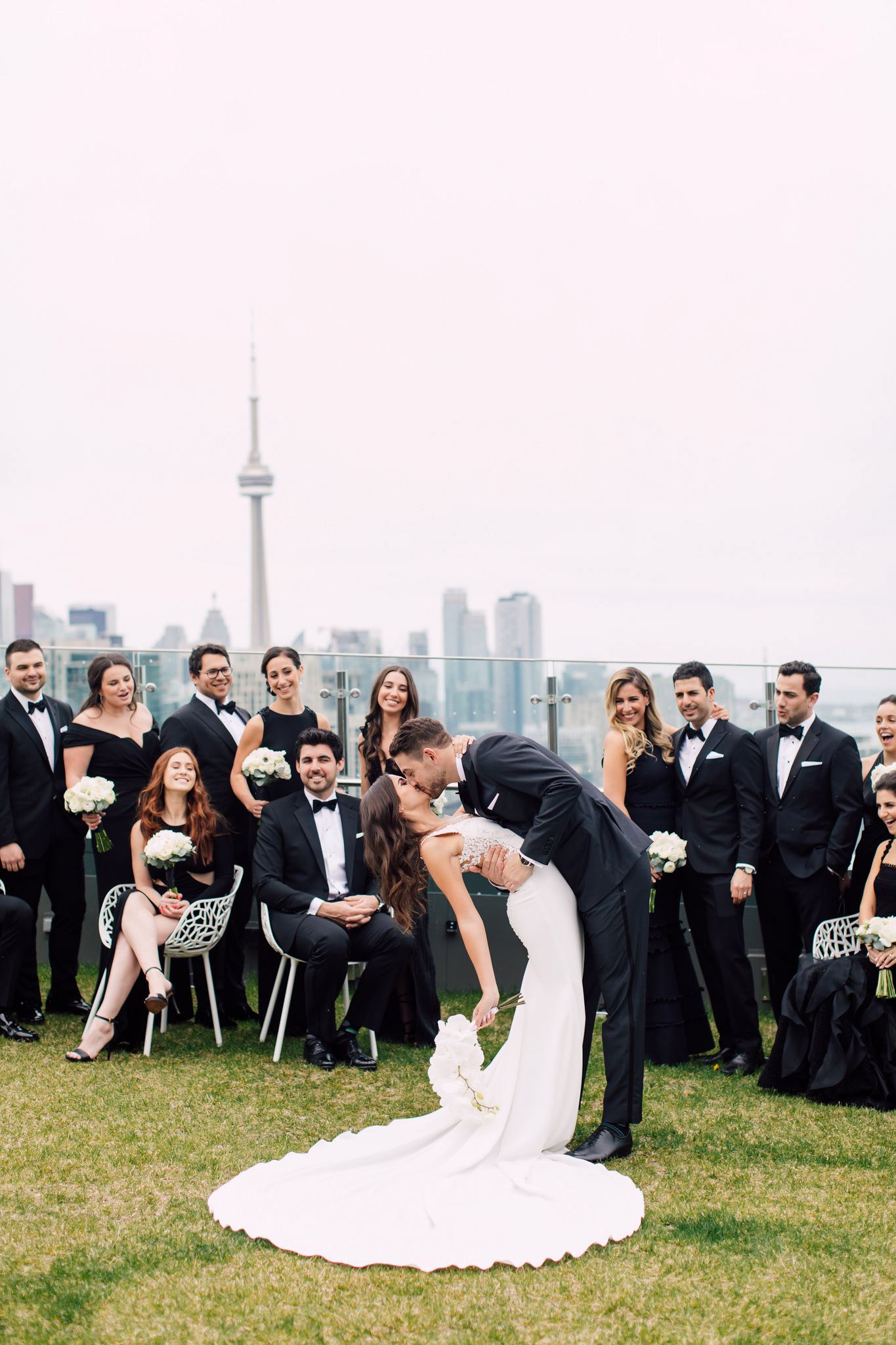 Wedding party Toronto