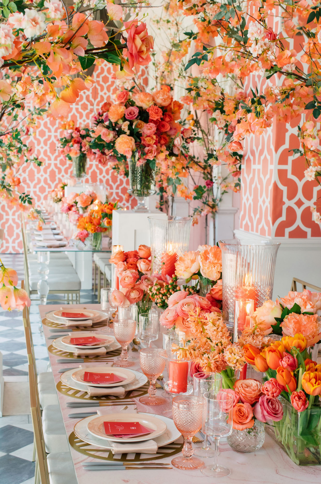 coral wedding ideas